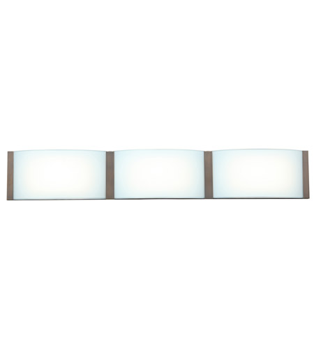 Bronze Wave Bathroom Vanity Lights