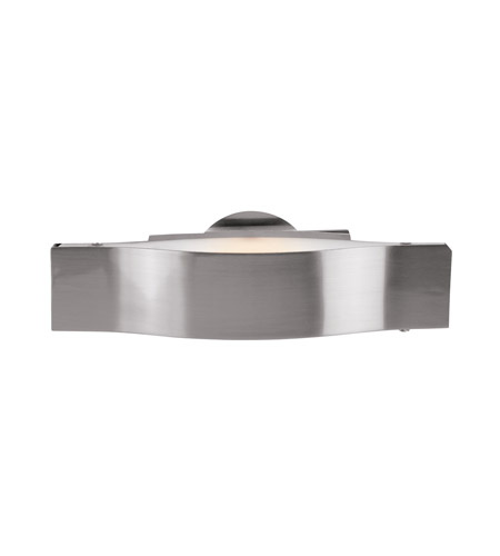 Access 62311-BS/FST Titanium 1 Light 12 inch Brushed Steel Vanity Wall Light photo
