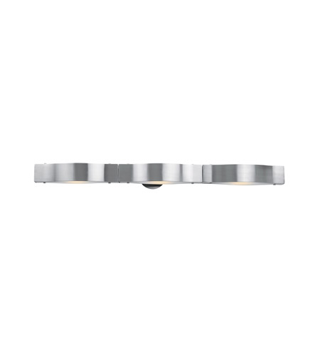 Access Lighting Titanium 3 Light Vanity in Brushed Steel 62313-BS/FST photo