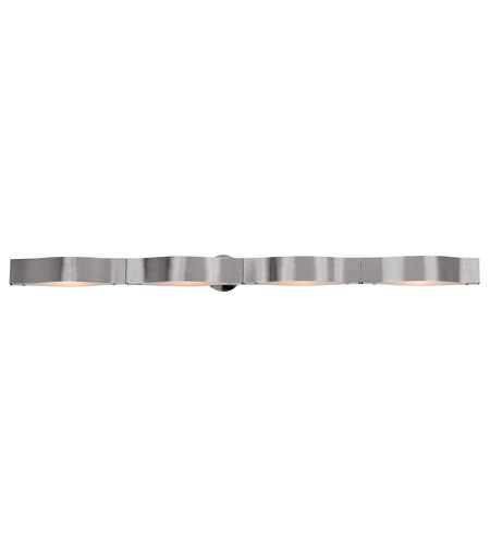 Access Lighting Titanium 4 Light Vanity in Brushed Steel 62314-BS/FST photo