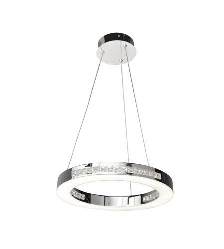 Access 62454LEDD-CH/CCL Affluence LED 16 inch Chrome Pendant Ceiling Light photo thumbnail