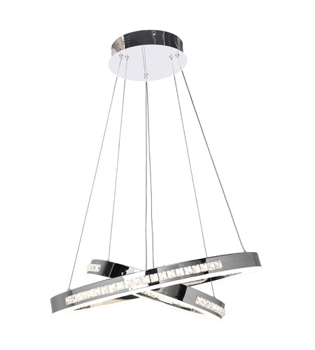 Access 62458LEDD-CH/CCL Affluence LED 24 inch Chrome Pendant Ceiling Light photo