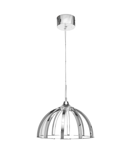 Access 62459LEDD-CH/ACR Tribeca LED 16 inch Chrome Pendant Ceiling Light photo