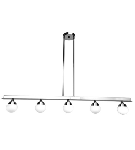 Access 62476LEDD-CH/OPL Classic LED 43 inch Chrome Pendant Ceiling Light photo