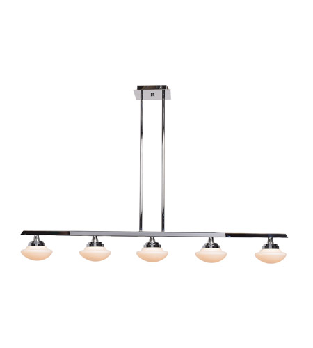 Access 62495LEDD-CH/OPL Atomiser LED 43 inch Chrome Pendant Ceiling Light photo thumbnail