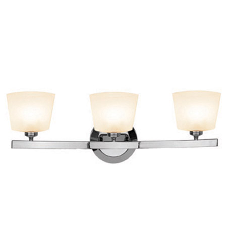 Access 63813-20-CH/OPL Sydney 3 Light 23 inch Chrome Vanity Wall Light in  22.5 inch photo