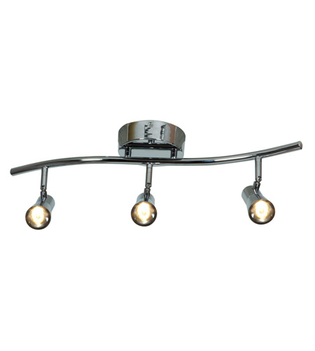 Light Track Lighting In Chrome 63426ledd Ch