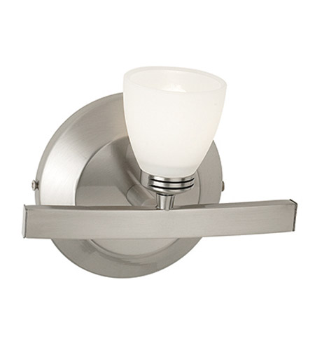 Access Lighting Sydney 1 Light Wall & Vanity in Matte Chrome with Opal Glass 63811-46-MC/OPL photo
