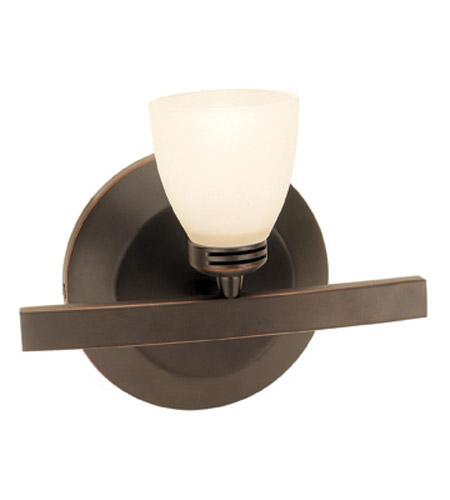 Access Lighting Sydney 1 Light Vanity in Oil Rubbed Bronze 63811-ORB/OPL photo