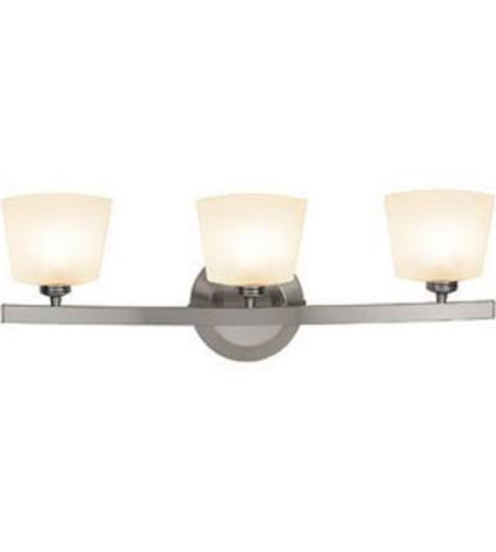 Access 63813-20-MC/OPL Sydney 3 Light 23 inch Matte Chrome Vanity Wall Light in  22.5 inch photo