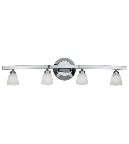 Access Lighting Sydney 4 Light Vanity in Chrome 63814-CH/OPL photo