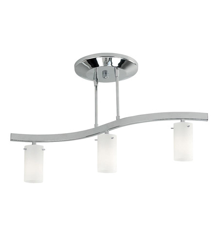 Access Lighting Classical 3 Light Semi-Flush in Chrome 63903-CH/OPL photo