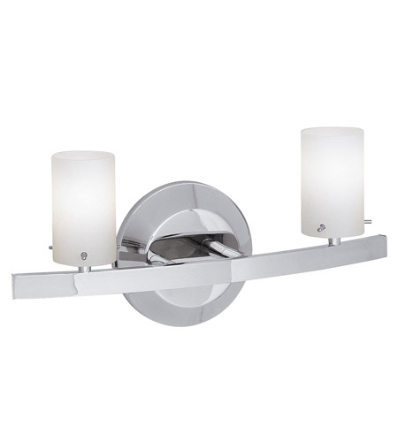 Access Lighting Classical 2 Light Vanity in Chrome 63912-CH/COB photo