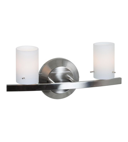 Access Lighting Classical 2 Light Vanity in Matte Chrome 63912-MC/OPL photo