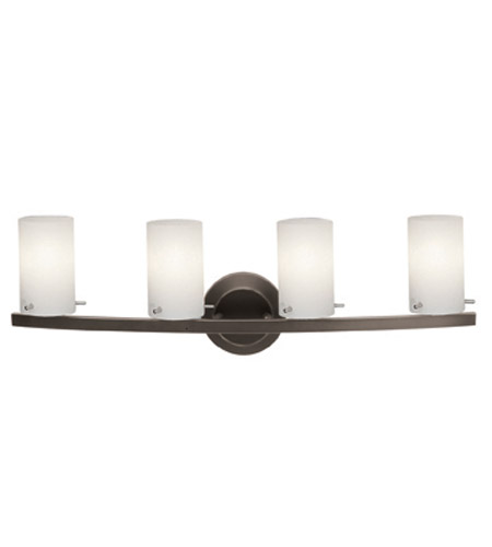 Access Lighting Classical 4 Light Vanity in Oil Rubbed Bronze 63914-ORB/OPL photo
