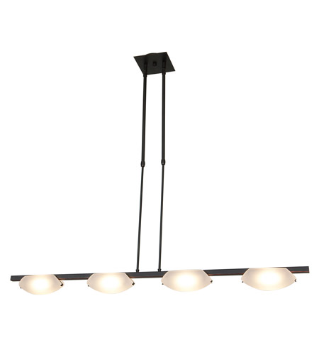 Access Lighting Nido 4 Light Pendant in Oil Rubbed Bronze 63958-ORB/FST photo