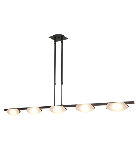 Access Lighting Nido 5 Light Pendant in Oil Rubbed Bronze 63959-ORB/FST photo
