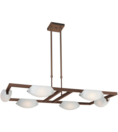 Access 63962-ORB/FST Nido 6 Light 3 inch Oil Rubbed Bronze Chandelier Ceiling Light photo