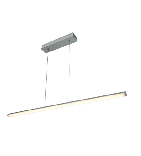 Access 63963LED-SILV/ACR Float LED 2 inch Silver Pendant Ceiling Light photo