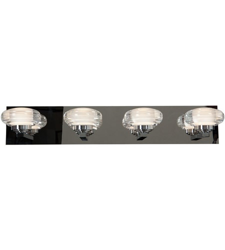Access 63974ledd chacr optix led 26 inch chrome vanity light wall access 63974ledd chacr optix led 26 inch chrome vanity light wall light in 3000k acrylic aloadofball Image collections