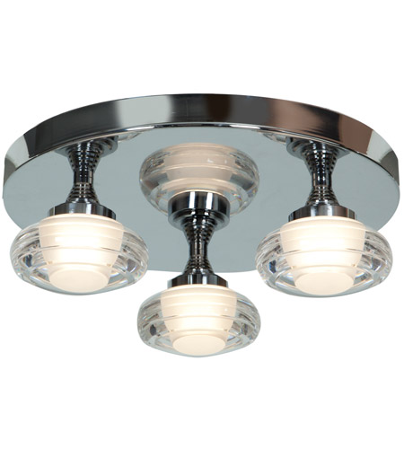 Access 63978LEDD-CH/ACR Optix LED 14 inch Chrome Flush Mount Ceiling Light photo