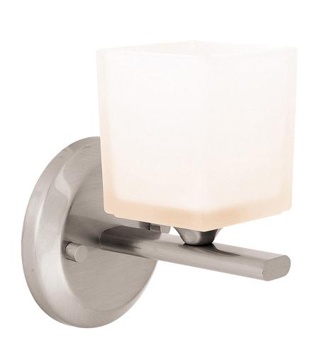 Access Lighting Hermes 1 Light Vanity in Brushed Steel 64001-BS/OPL photo