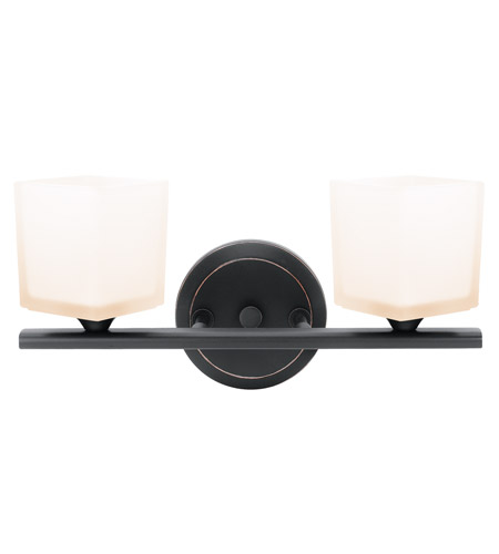 Access Lighting Hermes 2 Light Vanity in Oil Rubbed Bronze 64002-ORB/OPL photo