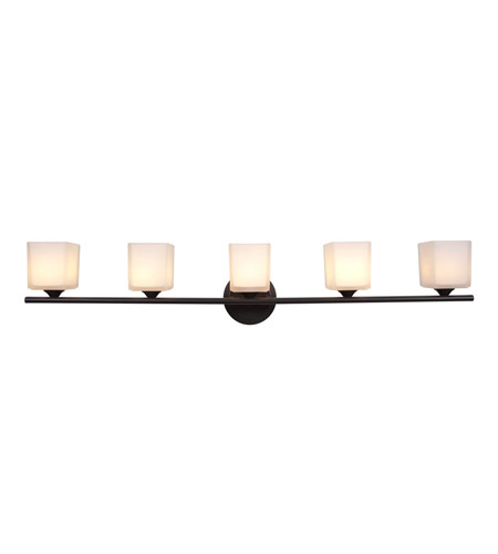 Access Lighting Hermes 5 Light Vanity in Oil Rubbed Bronze 64005-ORB/OPL photo