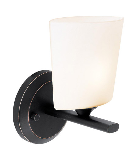 Access Lighting Thea 1 Light Vanity in Oil Rubbed Bronze 64031-ORB/OPL photo
