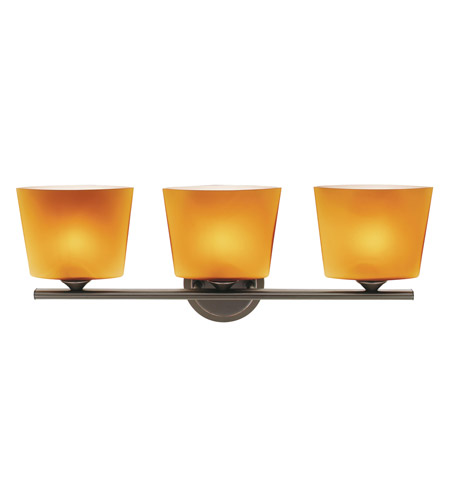 Access Lighting Thea 3 Light Vanity in Oil Rubbed Bronze 64033-ORB/AMB photo