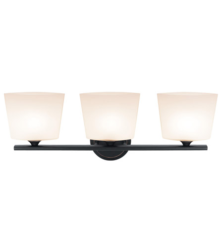 Access Lighting Thea 3 Light Vanity in Oil Rubbed Bronze 64033-ORB/OPL photo