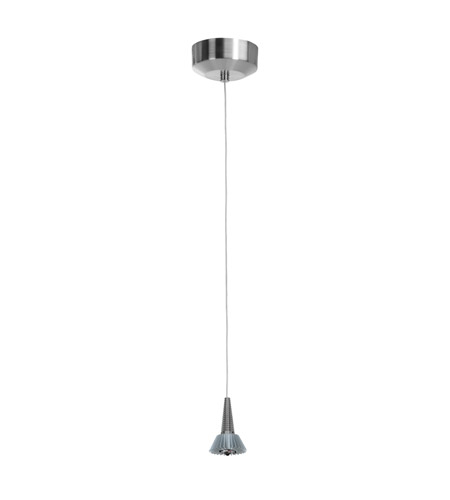 Access 70012LEDD-BS Tungsten LED 3 inch Brushed Steel Mini Pendant Ceiling Light photo