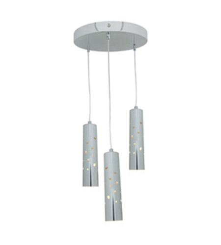 Access 70049LED-CH/ACR Rain LED 12 inch Chrome Pendant Ceiling Light photo