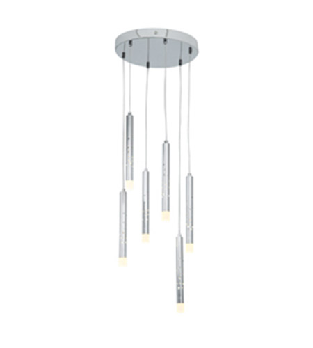Access 70050LED-CH/ACR Rain LED 12 inch Chrome Pendant Ceiling Light photo