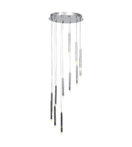 Access 70052LED-CH/ACR Rain LED 18 inch Chrome Pendant Ceiling Light photo