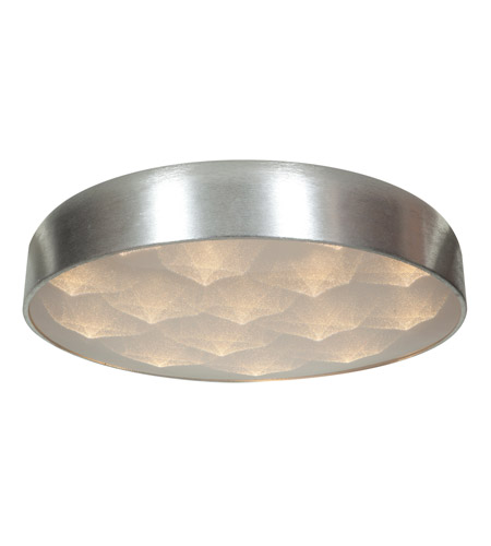 Access 70081LEDD-BSL/ACR Meteor LED 18 inch Brushed Silver Flush Mount Ceiling Light photo