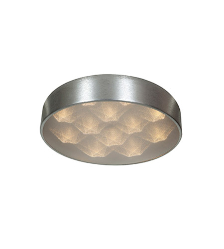 Access Lighting Meteor 12 Light Flush Mount in Brushed Silver 70081LED-BSL/ACR photo