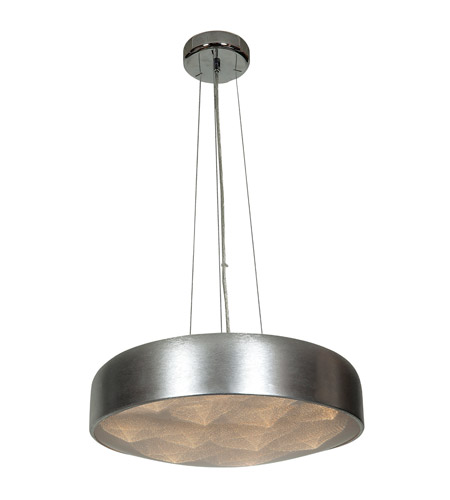Access 70083LEDD-BSL/ACR Meteor LED 18 inch Brushed Silver Pendant Ceiling Light photo