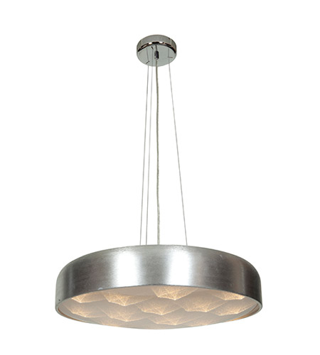Access Lighting Meteor 16 Light Pendant in Brushed Silver 70084LED-BSL/ACR photo