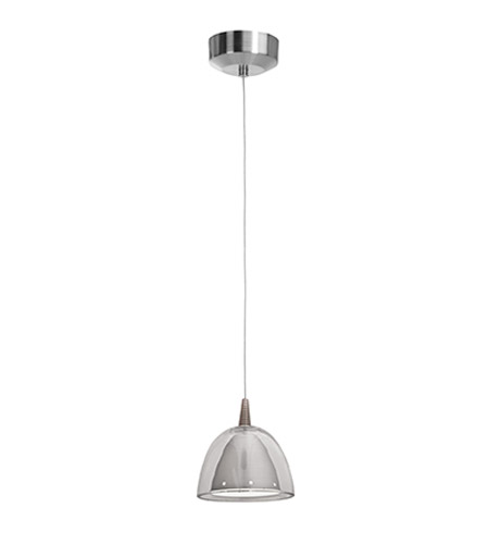 Access Lighting Tungsten 1 Light LED Mini-Pendant in Brushed Steel 72021-BS/BSC photo