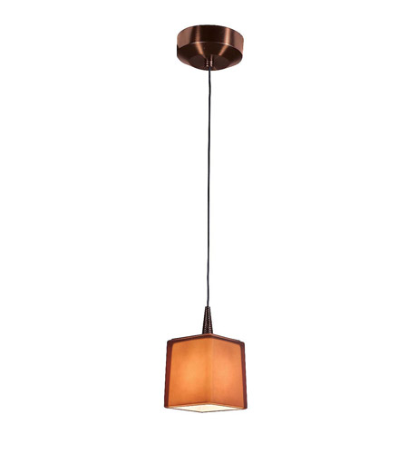 Access 72918LED-BRZ/AMB Tungsten LED 3 inch Bronze Pendant Ceiling Light in Amber photo