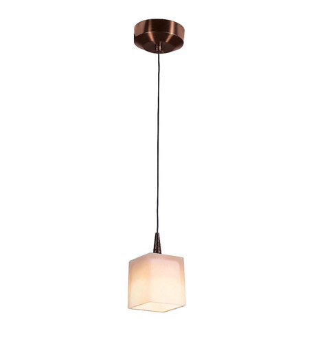 Access 72918LED-BRZ/OPL Tungsten LED 3 inch Bronze Pendant Ceiling Light in Opal photo