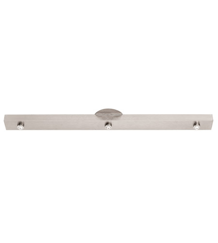 Access Lighting UniJack Canopy Accessory in Brushed Steel 87103UJ-BS photo