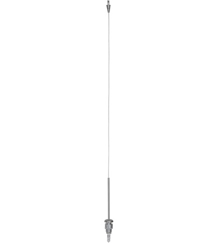 Access 909UJ-BS Xi 1 Light 120 inch Brushed Steel Pendant Ceiling Light photo