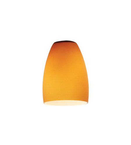 Access 969ST-AMB Cone _ Glass Shade in Amber photo