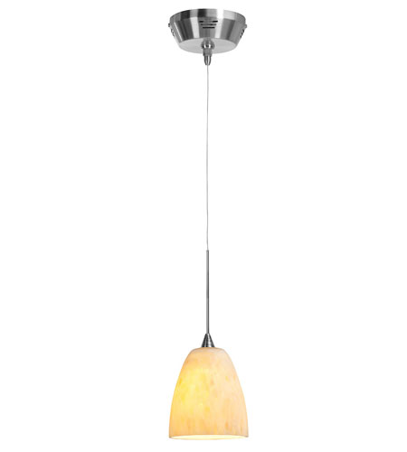 Access Lighting UniJack Kappa UJ 1 Light Low Voltage Pendant with Rain Glass in Bronze 99933-BRZ/AMM photo