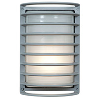 Access 20010LEDDMGLP-SAT/RFR Bermuda LED 11 inch Satin Bulkhead