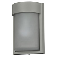 Destination LED 10 inch Satin Outdoor Wall Sconce