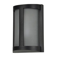Access 20042MG-BL/RFR Pier 1 Light 10 inch Black Bulkhead