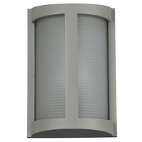 Access 20042LEDMG-SAT/RFR Pier LED 10 inch Satin Outdoor Wall Sconce